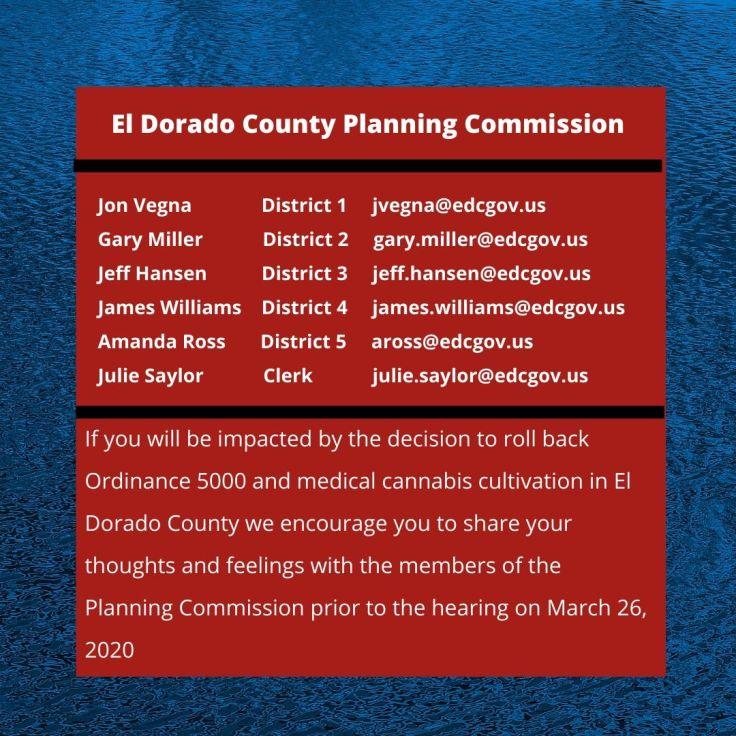 El Dorado County Planning Commission